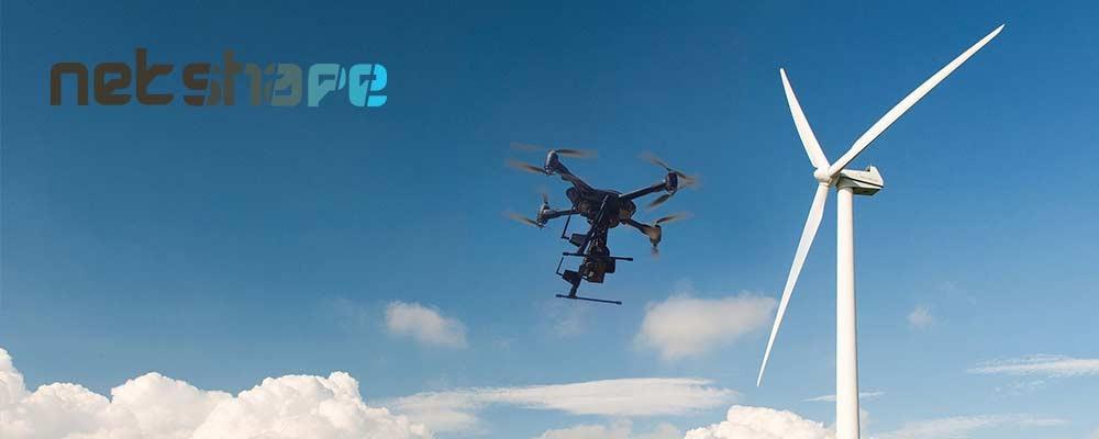 Inspectii cu drone ale turbinelor eoliene